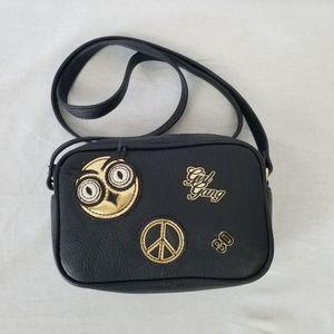 Express girl gang black mini crossbody purse